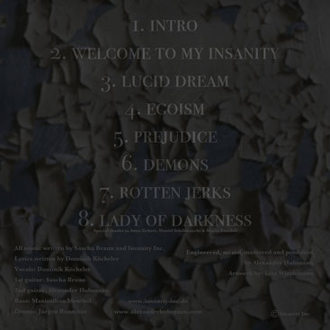 Welcome To Our Insanity EP - Lyrics - Insanity Inc.