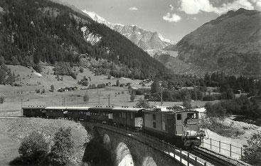 Phot. E. Gyger Adelboden, gestempelt 30.10.1952