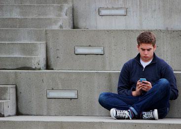 SMS an Ex zum Nachdenken