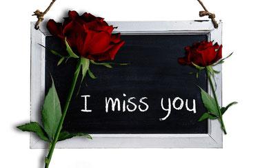 Ich vermisse meinen Ex