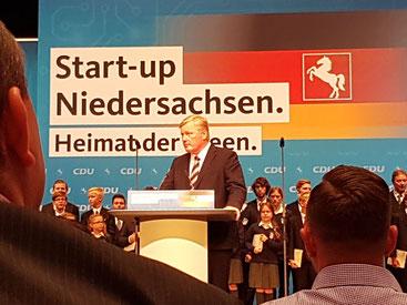 CDU-Landesvorsitzender und Verkehrsminister Dr. Bernd Althusmann MdL