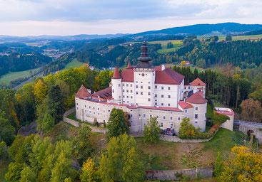 Das Schloss Weinberg heute