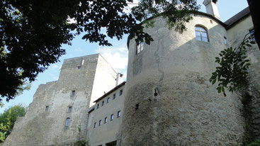 Rückseite der Burg