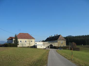 Das Schloss Zellhof heute