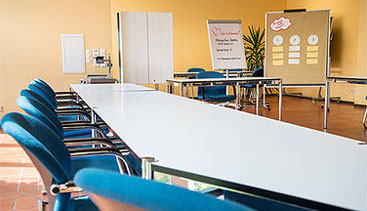 Seminarraum im Bildungshaus Zeppelin