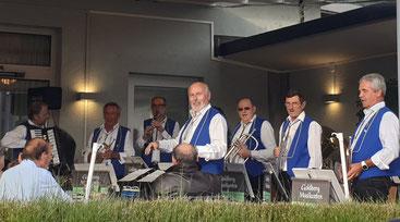 Goldbergmusikanten: Chilbikonzert im Restaurant Seehof Schmerikon