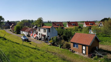 kleines (Fischer)Dorf am Nationalpark Oosterschelde