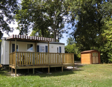 Mobil Home en location La Grenouillère Frise Somme