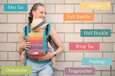 Huckepack baby carrier, babywearing, which carrier to choose?