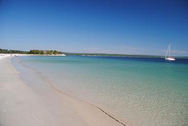 Nicht Karibik, sondern wirklich Nova Scotia