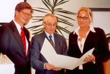 Max W. Schenck, Prof. Dr. Horst A. Wessel, Melanie Mannesmann