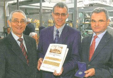 Prof. Dr. Horst A. Wessel, Dr. Uwe Baader, Prof. Dr. Norbert Koubek