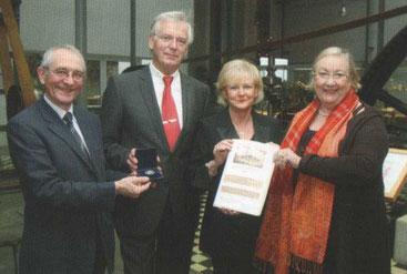 Prof. Dr. Horst A. Wessel, Harald Pflitsch und Gattin, Dr. Marion Gierden-Jülich