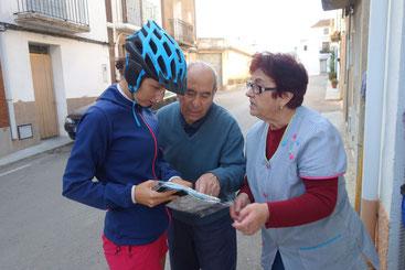Demande de chemin en Espagne