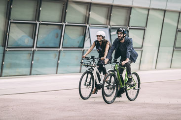 Zubehör zum City e-Bike in der e-motion e-Bike Welt Olten vergleichen und kaufen