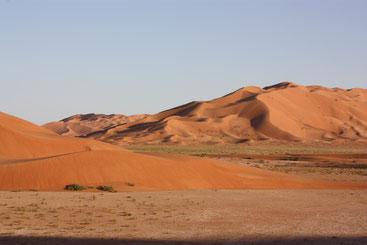 Singende Dünen in der Rub al Khali Wüste
