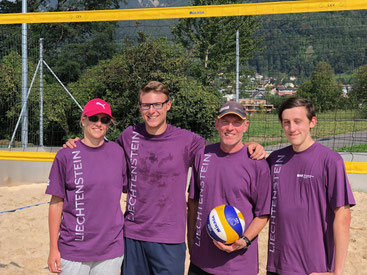 Team for one day - Vera Hasler, Timothy Runse, Philip Schädler, Noah Laternser
