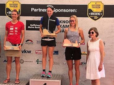Nicole Klingler gewinnt ihre Kategorie und die Bergsprintwertung
