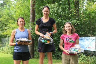 Nicole gewinnt den Thusis Triathlon bei den Damen