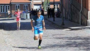 Mit einem guten zweiten Lauf erreichte Michele Paonne den guten 7.  EM Rang