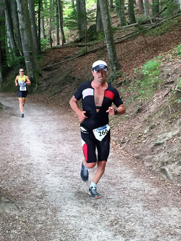 Johann Karner auf dem Weg zu Rang 5.