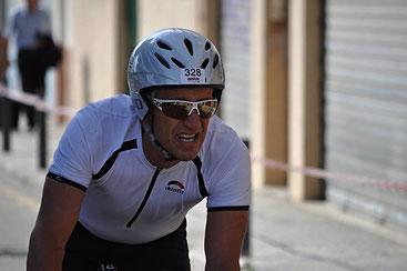 Starke Leistung auf dem Rad - Winfried Walter
