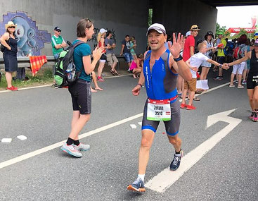 Trotz Krise im Marathon finisht Johann Karner in 11:46:41 Std.