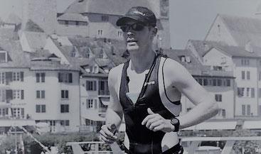 Roger Stalder nimmt am fünfachen Ironman teil