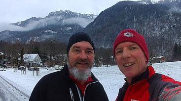 William Brendle und Philip Schädler zwischen Triesen und Balzers