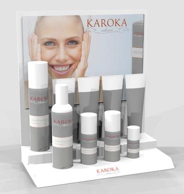 Karoka Display für Fachhändler