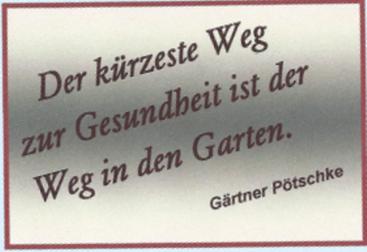 Zitat von Gärtner Pötschke, mit Word erstellt und importiert