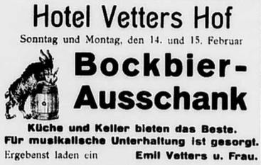 Werbung von 1932
