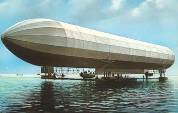 LZ 2 auf dem Bodensee