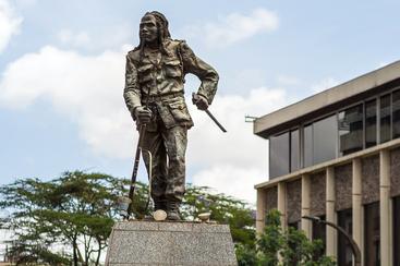 Dedan Kimathi Statue. Nairobi