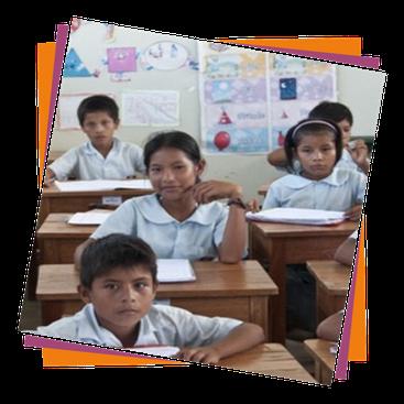 En 2010, à Santo Tomás, petit village d'Amazonie péruvienne, l'ASBL crée une école secondaire : cinq classes  et leur équipement en matériel et manuels scolaires, uniformes, salaires des professeurs, repas des élèves, construction d'un puits, ...