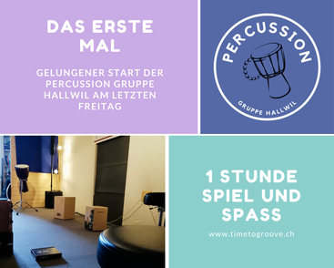 Percussion Gruppe Hallwil - Raumimpression Time to Groove Hallwil