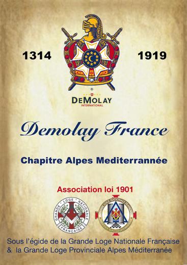 flyer DeMolay Nice Alpes-Méditerranée
