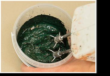 Pigmente klümpchenfrei vermengen