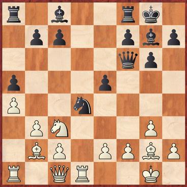 Mauelshagen - Oswald: 14.Td2! hätte Weiß in Vorteil gebracht, da 14. ... Lh6 an 15.Sd5! Dd6 16.e3 scheitert wonach Weiß in Vorteil kommt.