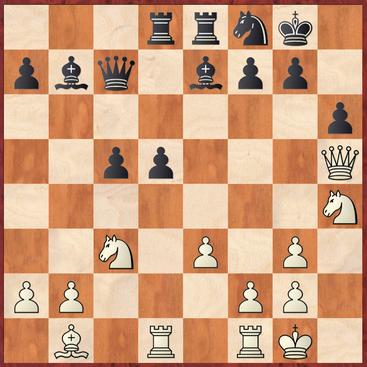 Lehmann - Gumbinger: Schwarz verpasste hier das starke 20. ... d4! wonach Schwarz nach 21.exd4 cxd4 22.Sd2 Lc5! starken Vorteil hätte erreichen können