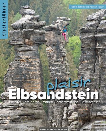 """Auswahlkletterführer """"Elbsandstein - plaisir"""""""