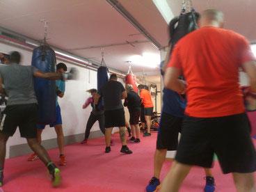 Gruppentraining 14 Pers. Fitness- u. Boxtraining, August 2018 - M's-Gym Bern Ittigen