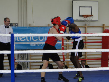 S. Jeganathan bis 75 kg - BOXING TEAM ITTIGEN - DEBUT AOB 1. April 2017 Thun