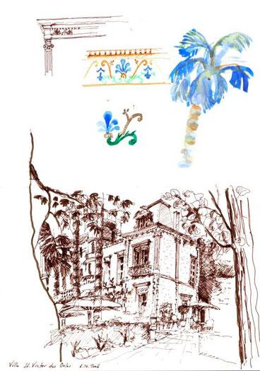Provence - St. Victor des Oules 2006 (Filzstift/Farbstift)