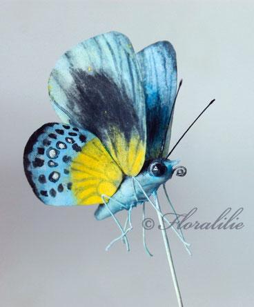 Schmetterlin aus Oblatenpapier von Floralilie