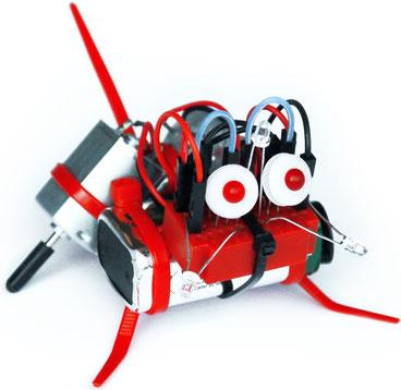 Roboterbausatz zum Stecken mit 12 verblüffenden Funktionen