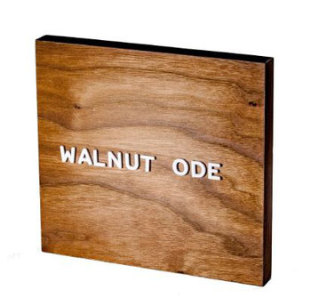 Jut Made Walnut Letter Board