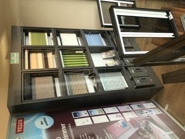 Plisse in diversen Farben, halbtransparent oder verdunkelnd