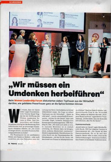 NEWS, Women Leadership Forum 2017, WLF 17, WLF 2017, Women Leadership, Frau macht Bildung, Bildung ist weiblich