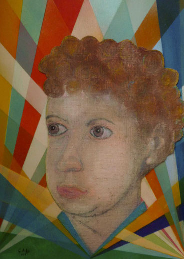 Portrait of Dylan Thomas